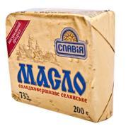 Масло Славія 200г селянське