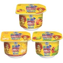 Йогурт Локо Моко 115г дитячий полуниця