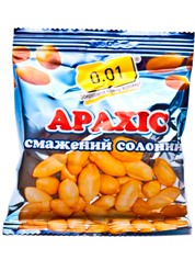 Арахіс 0.01 100г смажений солоний