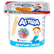 Сир Агуша 100г 3.9% гарбуз