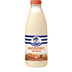 Молоко Простоквашино 900мл 2.5% топлене бут