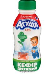 Кефір дитячий Агуша 200мл 3.2% пляшка