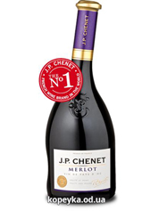 Вино JP Chenet 0.75л merlot червоне сухе