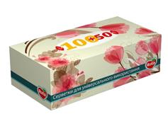 Cерветки Рута 100л+50л косметичні