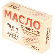Масло Шабська ферма 200г 73%