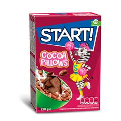 Пластівці Стар 250г подушечки какао начинка