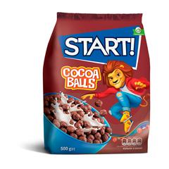Пластівці Стар 500г кульки какао