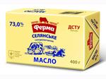 Масло Ферма 73% 400г селянське еколін