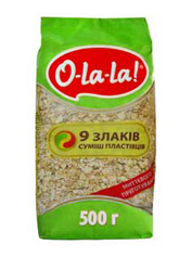 Суміш O-La-La 500г 9 злаків