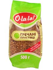 Пластівці O-La-La 500г гречани