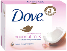Крем мило Dove 135г кокосове молочко пелюстки жасмину