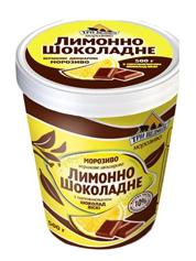 Морозиво 3 ведмедя 500г лимон шоколад  нап.шоколад вiскi