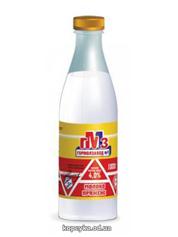 Молоко ГМЗ 1л 4% топлене