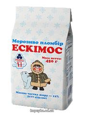 Морозиво Рудь 450г ескімос