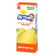 Сiк Агуша 200мл яблуко груша т.п