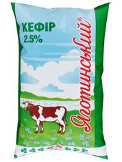 Кефір Яготинське 0.9л 2.5%  пл