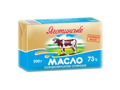 Масло Яготинське 200г 73% вершкове
