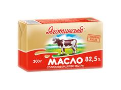 Масло Яготинське 200г 82.5% вершкове