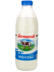 Молоко Яготинське 0.9л 2.6%  бут