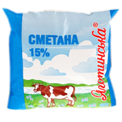 Сметана Яготинське 0.4л 15% пл