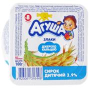 Сир Агуша 100г 3.9% злаки