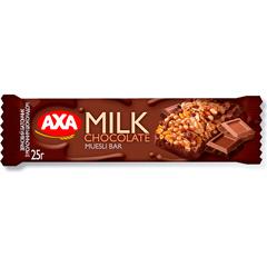 Батончик АХА 25г зерновий молочний шоколад