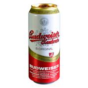 Пиво Budweiser (Будвайзер) 0.5л з.б
