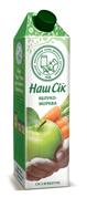 Сок Наш сок 0,95л морковь яблоко