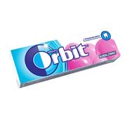 Жувальна гумка Orbit 13.6г білосніж. баблміт
