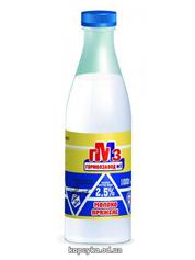 Молоко ГМЗ 1л 2.5% топлене