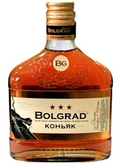 Коньяк Bolgrad 0.25л України ординальний 3 зiрочки