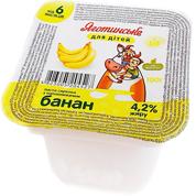 Паста сиркова Яготинське 100мл 4.2% банан