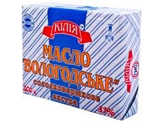 Масло Кілія 200г 83% вологодське