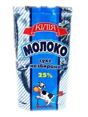 Молоко Килия 400г25% сухое цельное