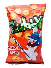 Фігурні вироби Zubby 80г сир солоні