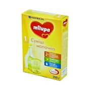 Суміш Мілупа 350г 1 молочна суха