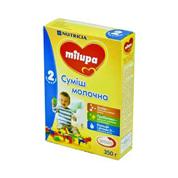 Суміш Мілупа 350г 2 молочна суха