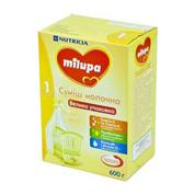 Суміш Мілупа 600г 1 молочна суха