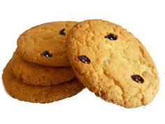 Печиво 0.01 300г амерiканер родзинки
