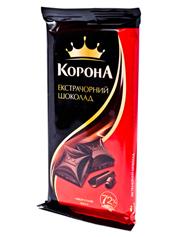 Шоколад Корона 90г чорний