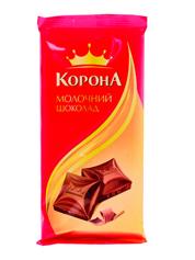Шоколад Корона 90г молочний