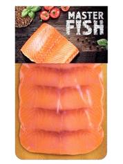 Горбуша Master Fish 90г нарізка х.к в.у