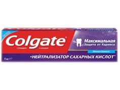 З.п. Колгейт максимальний захист від карієсу * нейтралізатор цукровий кислот 75 мл