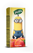 Нектар Jaffa minions 0.2л персик tba slim