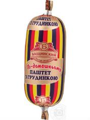 Паштет Бащинський 125г п.о.