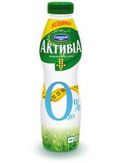 Йогурт Активiа 580 г 0% натуральний п.е.
