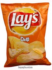 Чiпси Лейз 133г сир