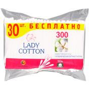 Палички ватні Lady Cotton 300шт п.п