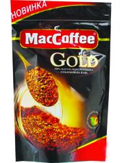Кава MacCoffe 75г gold дою пак