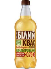 Квас Тарас 1.5л хлібний бiлий пет